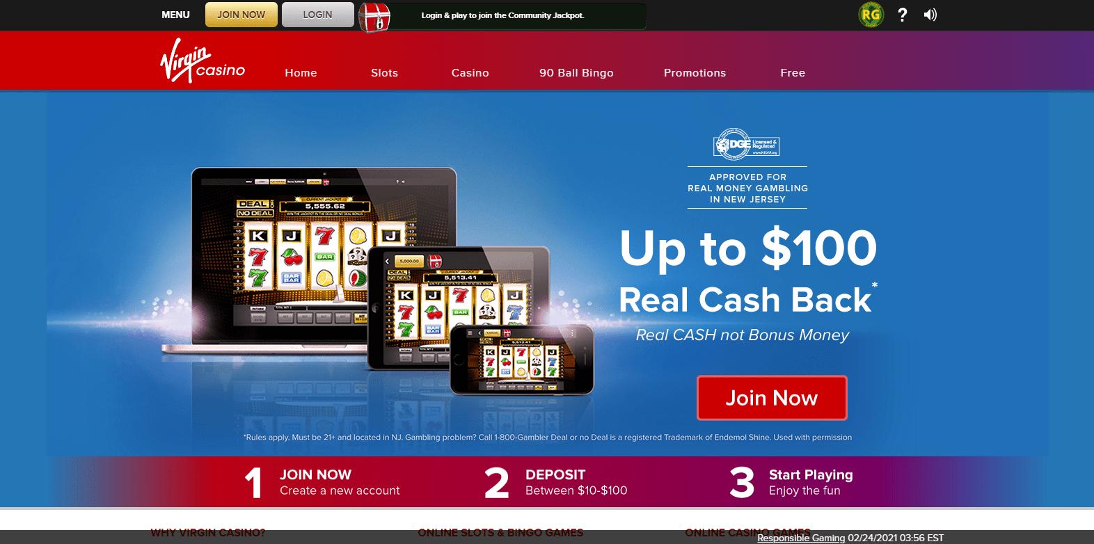 Virgin Online Casino