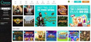 Ocean Casino Online
