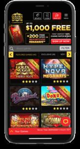 Golden Nugget mobile app