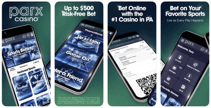 Parx mobile casino