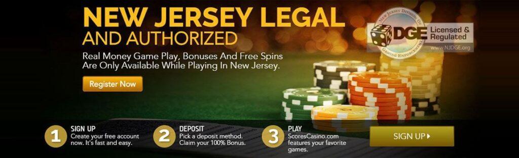 Scores casino NJ