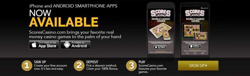 Scores Casino Mobile