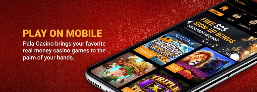 pala casino mobile