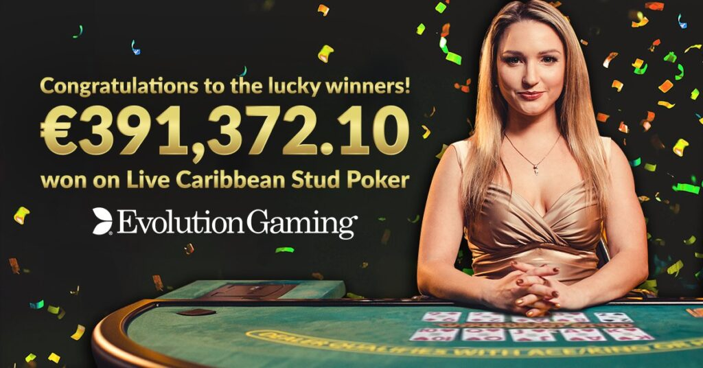 evolution live poker