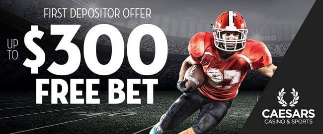caesars betting bonus