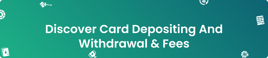 Discover Card Online Casino